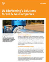 UL EduNeering's Solutions for Oil & Gas Companies