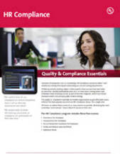 Quality & Compliance Essentials: HR Compliance