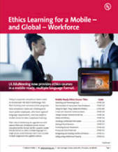 Life Science and Ethics Courses for a Mobile Workforce: Our Exclusive EduFlex Format