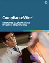 ComplianceWire: Compliance Management for Life Science Organizations