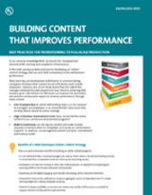 Building Content That Improves Performance