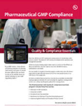 Quality & Compliance Essentials: Pharmaceutical GMP Compliance