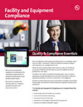 Quality & Compliance Essentials: Facility and Equipment Compliance